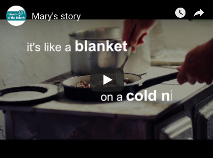 """It's like a blanket on a cold night"" video"