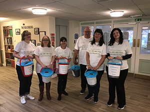 Supermarket bag pack raises funds for care home flower beds