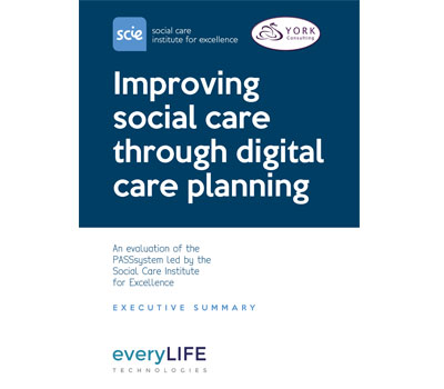 New Evaluation Indicates A Digital-First Approach Is Key To Long-Term Quality And Sustainability In Delivery Of Social Care