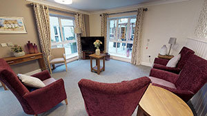 Four Acres care home interior