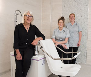 Ultra-luxurious Kings Lodge care home chooses latest anti-microbial baths from Gainsborough
