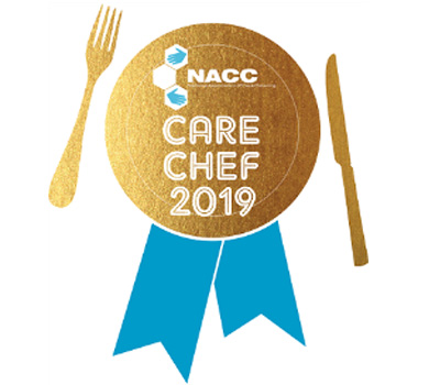The care chef of the year logo