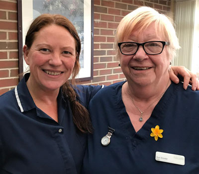 Daredevil nurses Sue & Julie will be zip lining for children's hospice