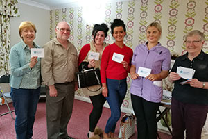 Dementia friends team at Teesside care home