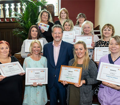 Optalis care workers honoured at awards ceremony