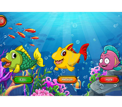 dementia-friendly app Retro Fish Game
