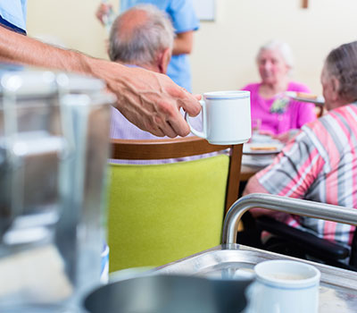 Temporary contractors – a care home worker services cup of tea
