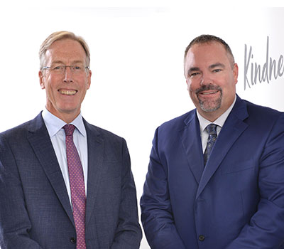 Care sector jobs - Sir David, left, with Justin Hutchens, HC-One CEO