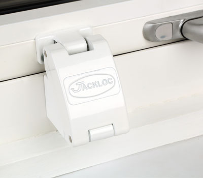 Jackloc window restrictor in a care home