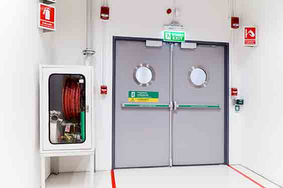 New fire door to increase Fire Safety