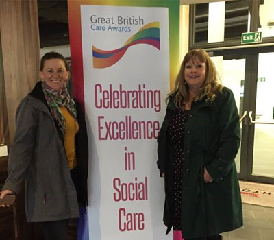 Fairmile Grange at Great British Care Awards 2019