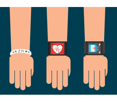 wearable technology like smart watches can monitor elderly people