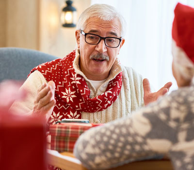 Residents doing their best to combat loneliness of older people this Christmas