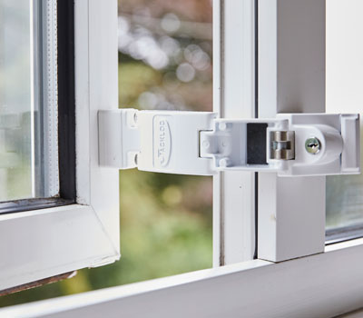 Titan by Jackloc window restrictor