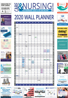 Care and Nursing Wallplanner 2020