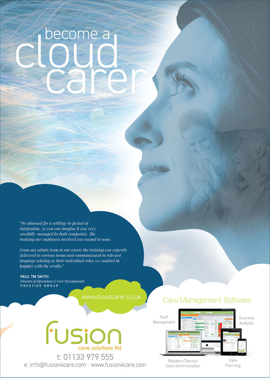 fusion care Cloud Carer