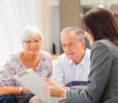 Care home residents receiving free financial and legal advice