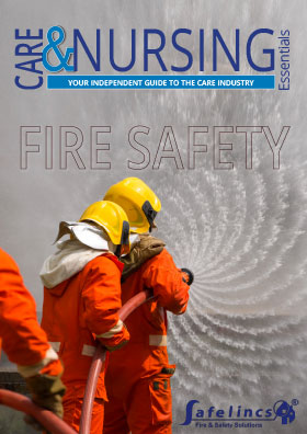 Fire safety front cover