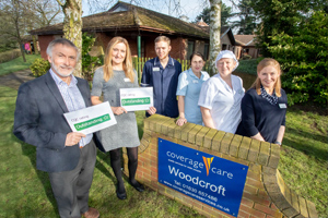 Market Drayton home delivering outstanding care