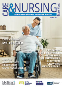 Care and Nursing Essentials 94 Front cover