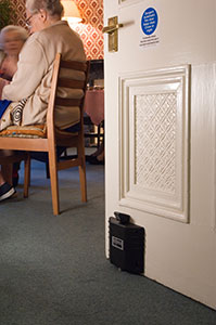 Dorgard Fire Door ensuring free movement for care home residents