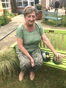 Maria Hinch - Garden Project for Dementia Clients