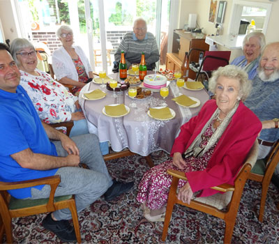 Big Lunch campaign at a Care Home