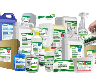 Gompels Healthcare infection control range