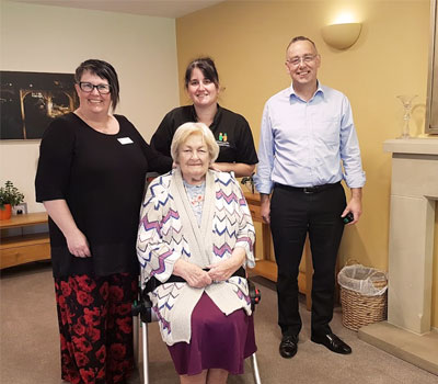 Harrogate Neighbours with emergency lifting chair