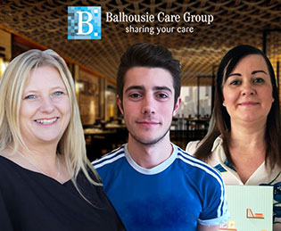 National Care Awards Finalists from Balhousie Care Group