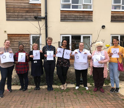 Specialist Neurological Rehabilitation Service in Oxfordshire rated Outstanding by the CQC
