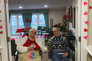 The Oaks Care Home this Valentine's Day