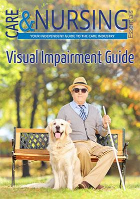 Visual Impairment guide front cover