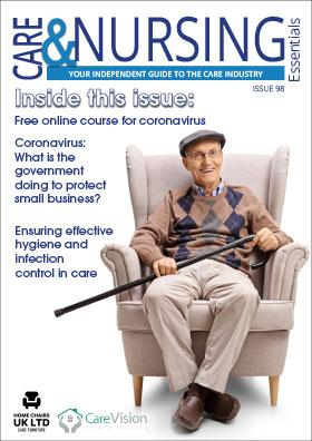 Care and Nursing issue 98 front cover